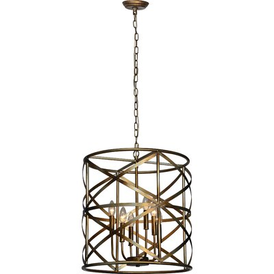 Huneycutt 6-Light Drum Pendant