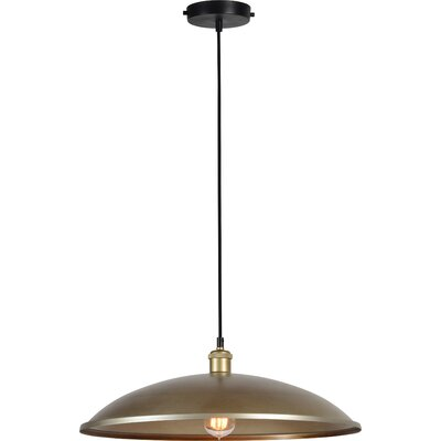 Dickert 1-Light Inverted Pendant Finish: Antique Gold