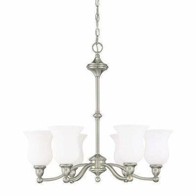 Frison 6-Light Candle-Style Chandelier