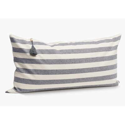 Rhuddlan Wide Cotton Lumbar Pillow Size: 14 x 26