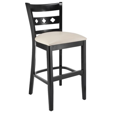 Yablonski 24 Bar Stool Color: Espresso