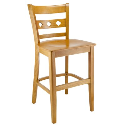 Ewell 24 Bar Stool Color: Natural