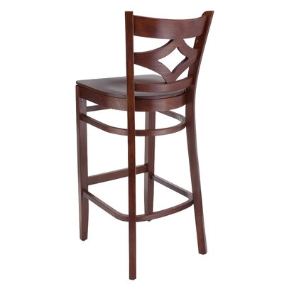 Fralick 30 Bar Stool Color: Oak