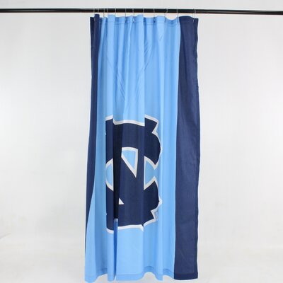 NCAA Cotton Shower Curtain NCAA: North Carolina Tar Heels