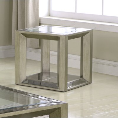 Laury Glass End Table