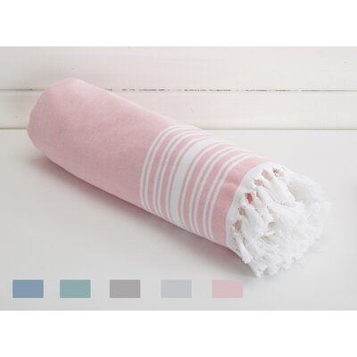 Kidd Blossom Linens Beach Towel Color: Baby Pink