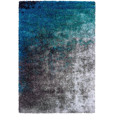 Pangburn Ocean Gray/Turquoise Area Rug Rug Size: Rectangle 10 x 121