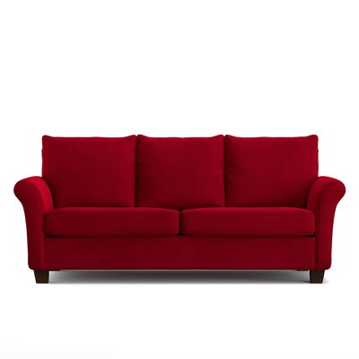 Mccrady Sofa Upholstery: Red