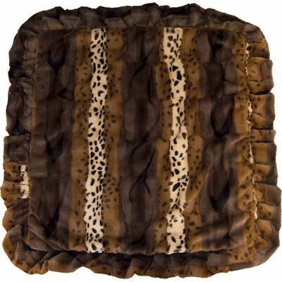 Wild Kingdom Grizzly Bear Mat Size: Small (24 W x 24 D)