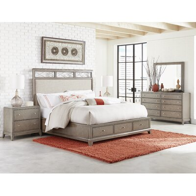 Whicker Platform Configurable Bedroom Set