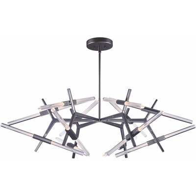 Stansell 1-Light LED Geometric Pendant