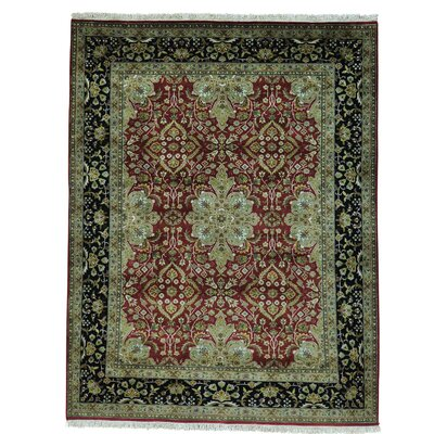 One-of-a-Kind Salzer Revival New Zealand 300 KPSI Oriental Hand-Knotted Area Rug