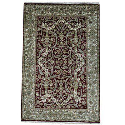 One-of-a-Kind Samons 300 KPSI Revival New Zealand Hand-Knotted Area Rug
