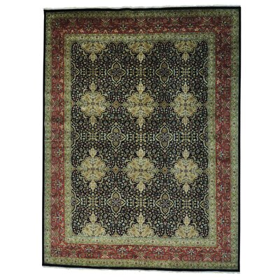 One-of-a-Kind Salzer Revival 300 KPSI New Zealand Hand-Knotted Area Rug