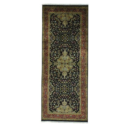 One-of-a-Kind Salzer Revival New Zealand Oriental Hand-Knotted Area Rug