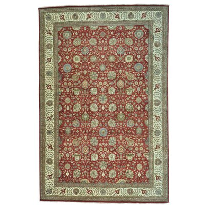 One-of-a-Kind Samons 300 KPSI Vegetable Dyes Hand-Knotted Area Rug