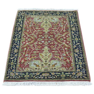 One-of-a-Kind Salzer Revival 300 KPSI New Zealand Oriental Hand-Knotted Area Rug