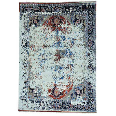 One-of-a-Kind Greenbank Broken Oriental Hand-Knotted Area Rug