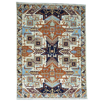 One-of-a-Kind Tilomar Geometric Super Hand-Knotted Area Rug