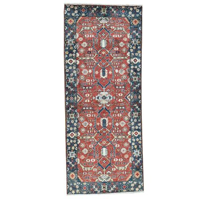 One-of-a-Kind Salzman All Over Hand-Knotted Area Rug