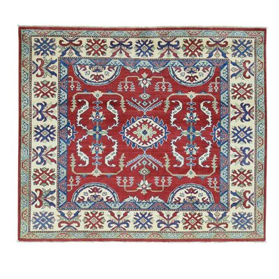 One-of-a-Kind Tilomar Squarish Oriental Hand-Knotted Area Rug
