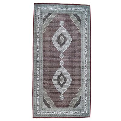 One-of-a-Kind Samons Mahi Hand-Knotted Silk Area Rug