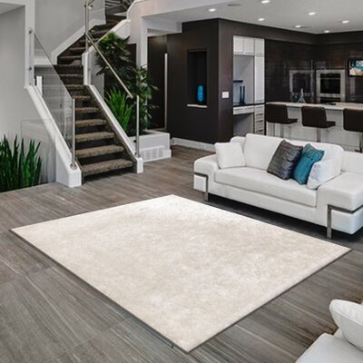 Meadows Hand-Tufted White Area Rug