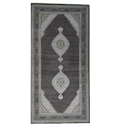 One-of-a-Kind Samons Mahi Gallery Hand-Knotted Silk Area Rug