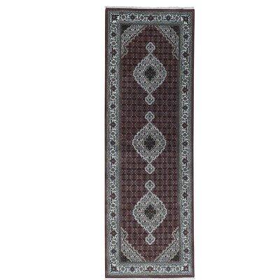 One-of-a-Kind Samons Mahi Hand-Knotted Silk Area Rug