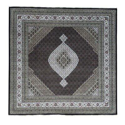 One-of-a-Kind Samons Mahi Oriental Hand-Knotted Silk Area Rug