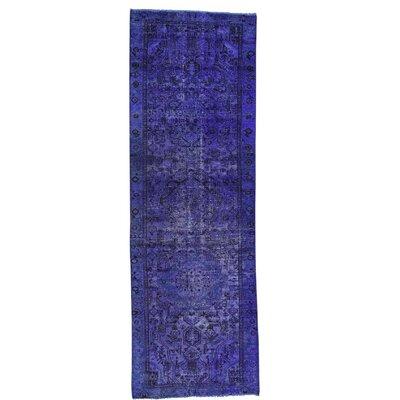 One-of-a-Kind Greenawalt Overdyed Bakhtiar Vintage Hand-Knotted Area Rug