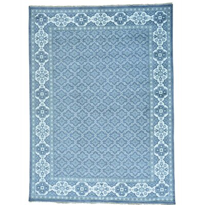 One-of-a-Kind Oritz Knot Oriental Hand-Knotted Area Rug