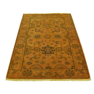 One-of-a-Kind Kating Overdyed Oriental Hand-Knotted Area Rug