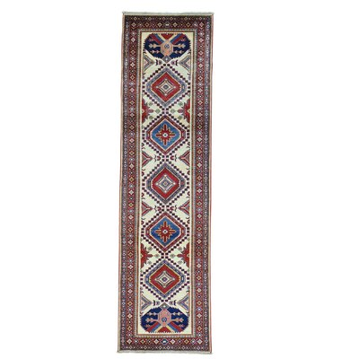 One-of-a-Kind Tillett Geometric Fine Hand-Knotted Area Rug