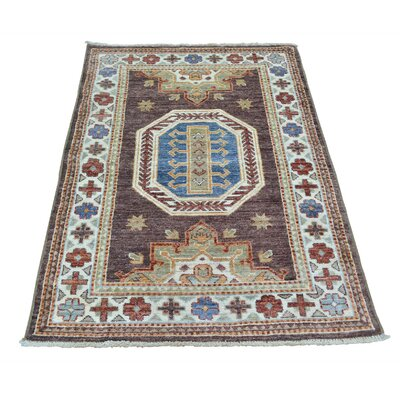 One-of-a-Kind Tilomar Super Hand-Knotted Chocolate Brown Area Rug