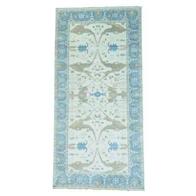One-of-a-Kind Kennard Oriental Hand-Knotted Area Rug
