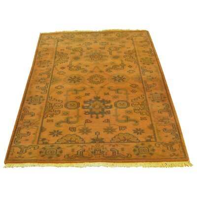 One-of-a-Kind Kennard Overdyed Oriental Hand-Knotted Area Rug