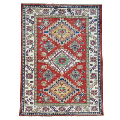 One-of-a-Kind Tillman Geometric Super Oriental Hand-Knotted Area Rug