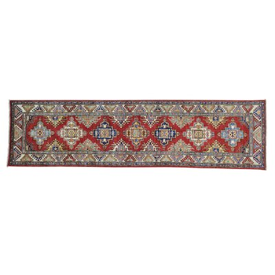 One-of-a-Kind Latimore Geometric Super Hand-Knotted Area Rug