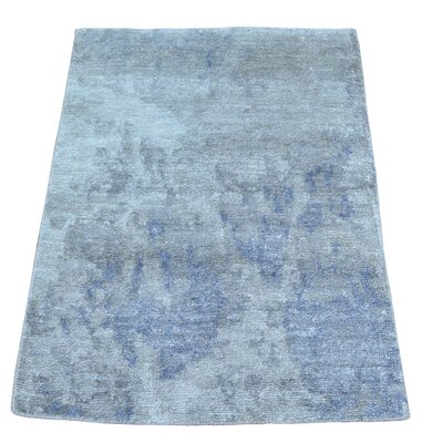 One-of-a-Kind Aguiar Abstract Oriental Hand-Knotted Area Rug
