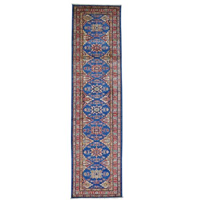 One-of-a-Kind Latimore Super Hand-Knotted Wool Blue Area Rug