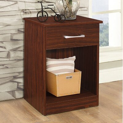 Penhook 1 Drawer Nightstand Color: Cherry