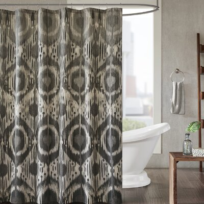 Prosser Cotton Printed Shower Curtain