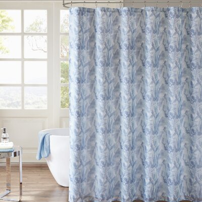 Hanneman Printed Shower Curtain