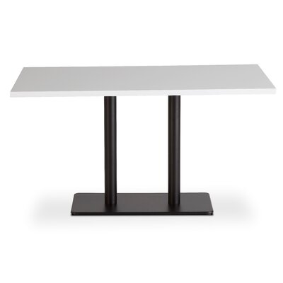 Dandoy Dining Table Base Color: Black