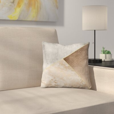 Chic Triangles Throw Pillow Size: 20 x 20