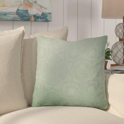 Jasso Cotton Throw Pillow Color: Seafoam