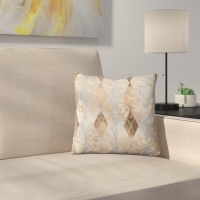 Chic Argyle Throw Pillow Size: 16 x 16