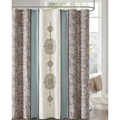 Hankerson Embroidered Shower Curtain