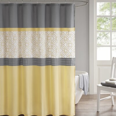 Osterman Embroidered Shower Curtain